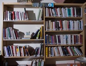 Bibliothèque : vue de face